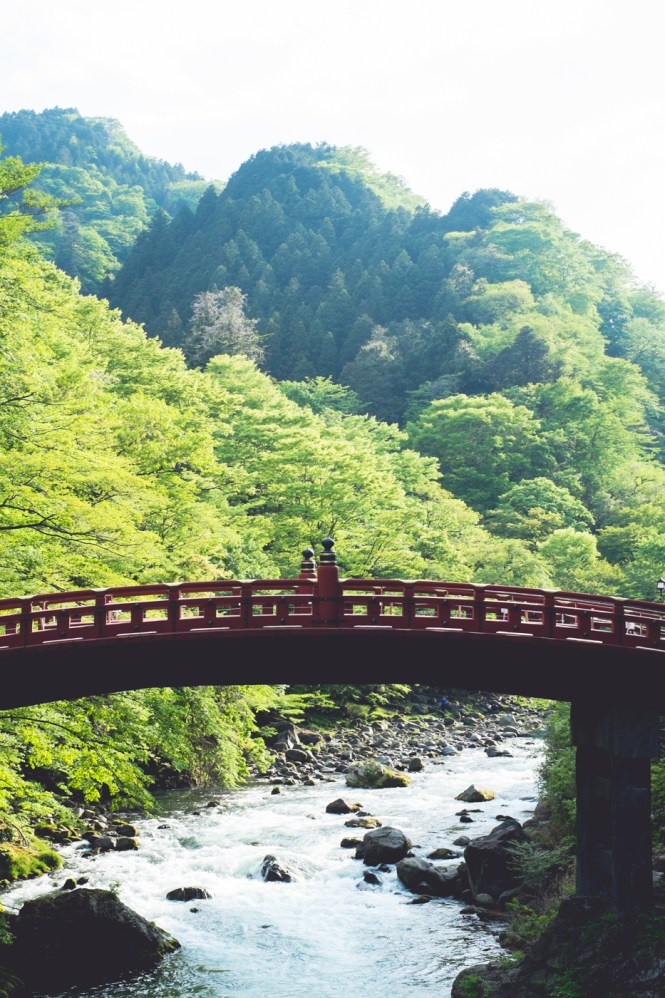 Shinkyo Bridge nikko japan