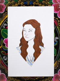 Game of Thrones - Inktober - Margaery Tyrell