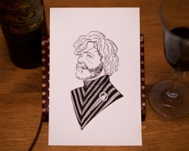 Game of Thrones - Inktober - Tyrion Lannister