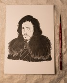 Game of Thrones - Inktober - Jon Snow