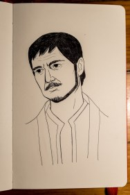 Game of Thrones - Inktober - Oberyn Tyrell