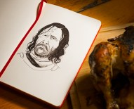 Game of Thrones - Inktober - The Hound Sandor Clegane