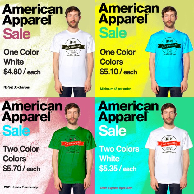 American Apparel Sale