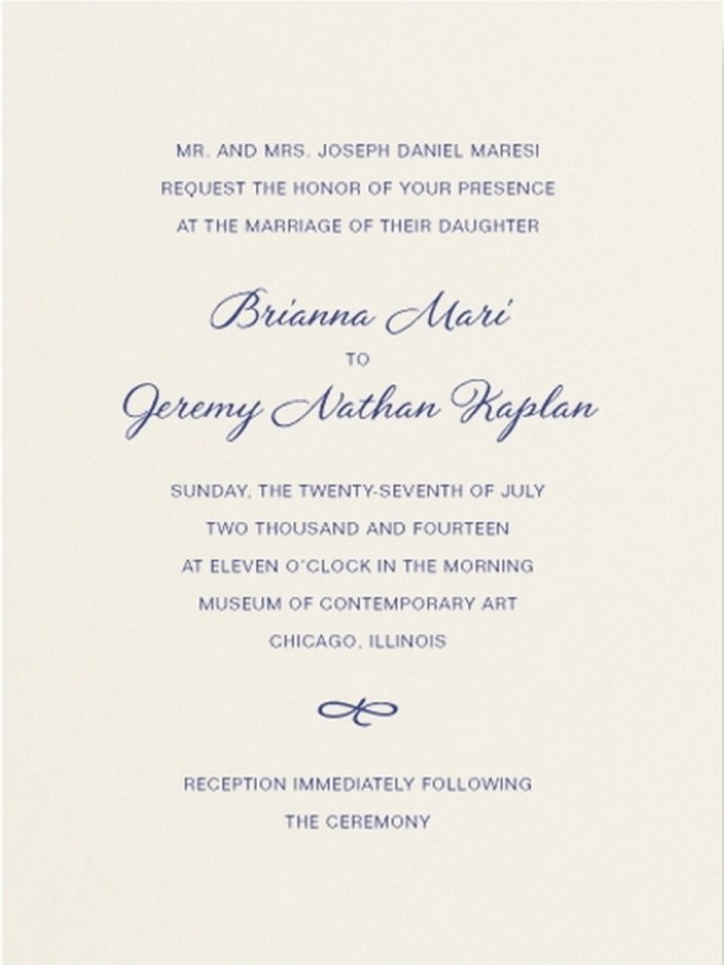 Classic Wedding Invitations For You Quotes