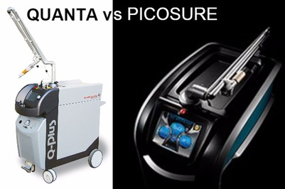 Laser tattoo removal: Quanta Q Plus C vs PicoSure