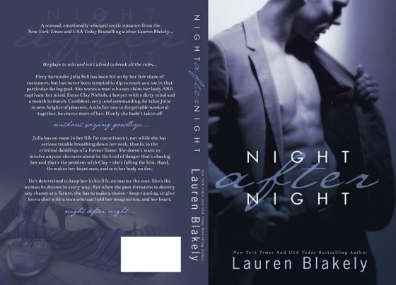Night After Night -Full Cover Wrap
