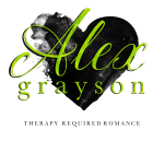 Alex Grayson: Therapy required romance author graphic