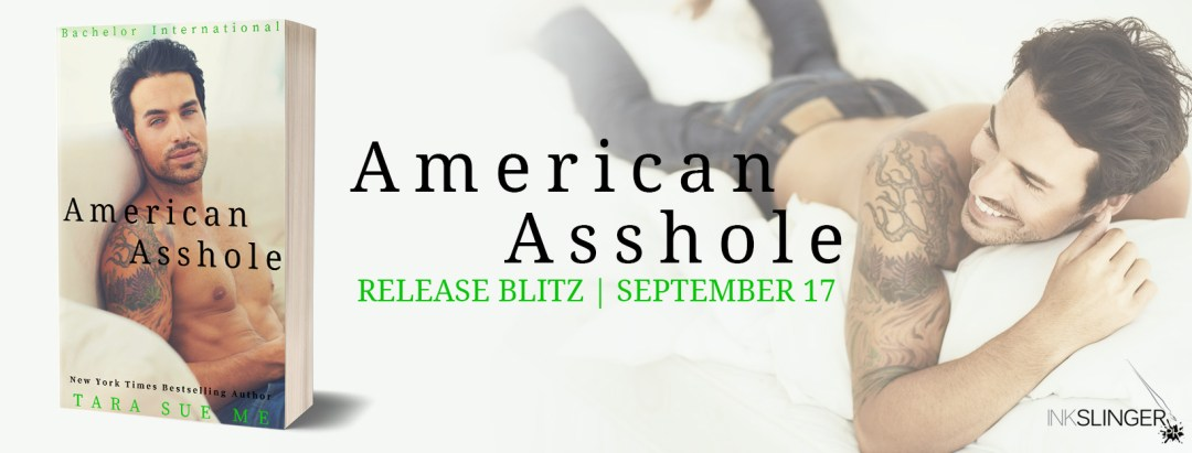 AmericanAsshole Banner RB Happy Book Birthday American Asshole by Tara Sue Me