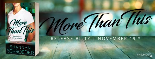 More than This release day banner