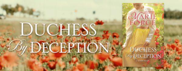 Duchess by Deception release day banner