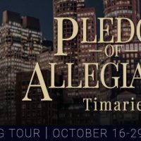 Pledge of Allegiance by Timarie #Thriller #Suspense @InkslingerPR
