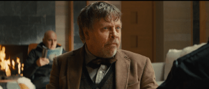 Holy Crap! Is Mark Hamill British? Oooh is he going to go all Ben Kenobi and try to sound like Alec Guinness in Star Wars VII