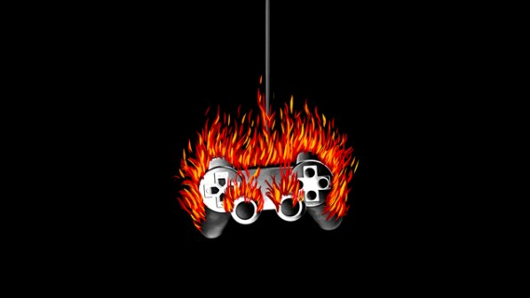 gamergate burning joystick