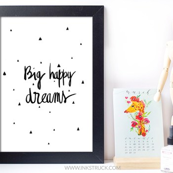 office decor free printable by inkstruck studio