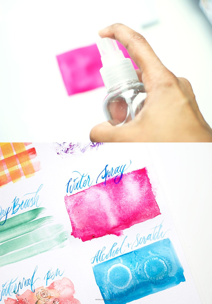Learn fun and easy watercolor techniques for beginners in this post- Zakkiya Hamza | Inkstruck Studio