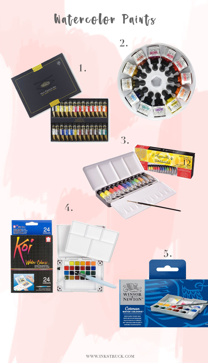 watercolor artist gift ideas - inkstruck studio
