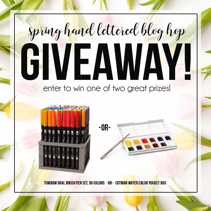 Awesome Tombow+winsor and Newton watercolor giveaway - Inkstruck Studio