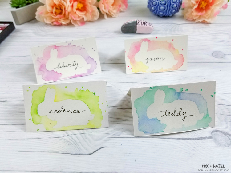 DIY Watercolor Easter Place Cards-26