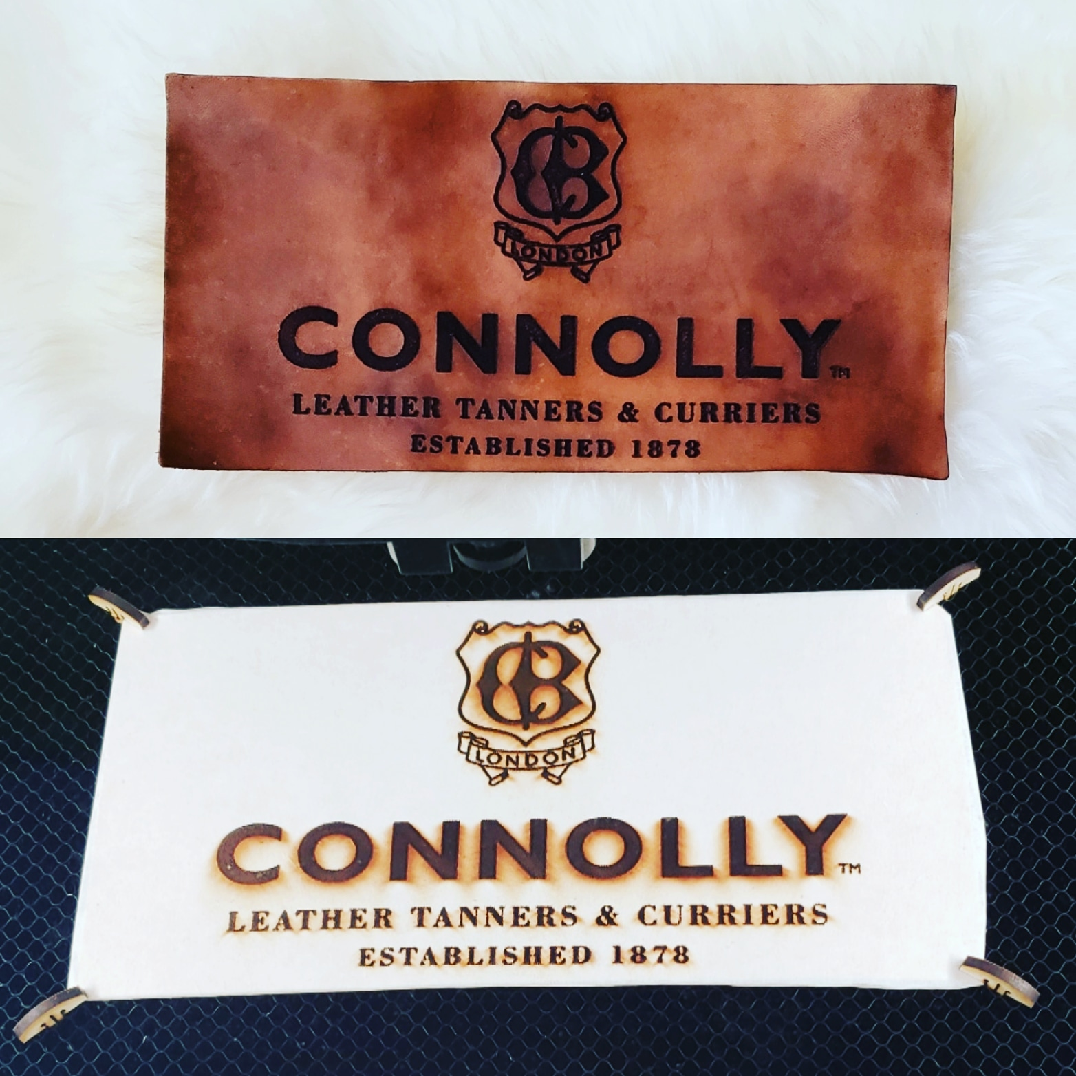 Leather Engraving, Monogramming, Painting, Debossing and