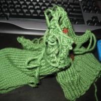 Knitting Fail: I'll get you next time, Cthulhu.  Next time.