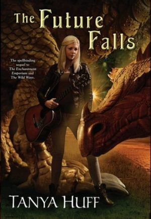 Book Cover: The Future Falls by Tanya Huff