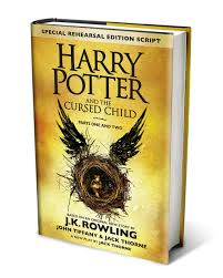 Book Cover: Harry Potter and the Cursed Child.