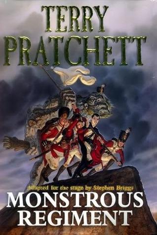 Book cover: Monstrous Regiment by Terry Pratchett