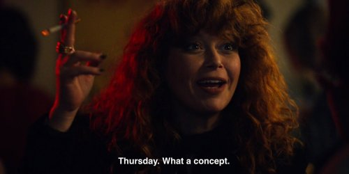 Thursday. What a concept