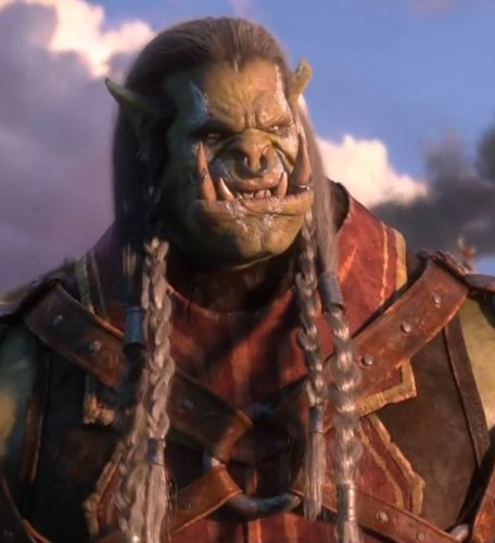 High Overlord Varok Saurfang, still from the Old Soldier cinematic.