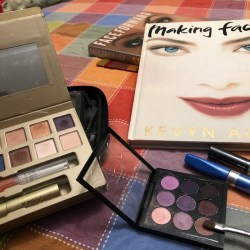 A fascination with makeup is one of my unmarketable skills: Making Faces and Face Forward by Kevyn Aucoin