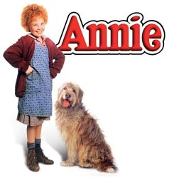 Poster for 1980's film Annie starring Aileen Quinn