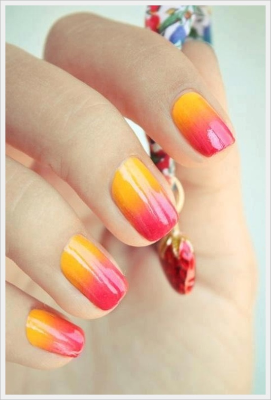 Colored Nail Art Ideas 2016 Tips Designs