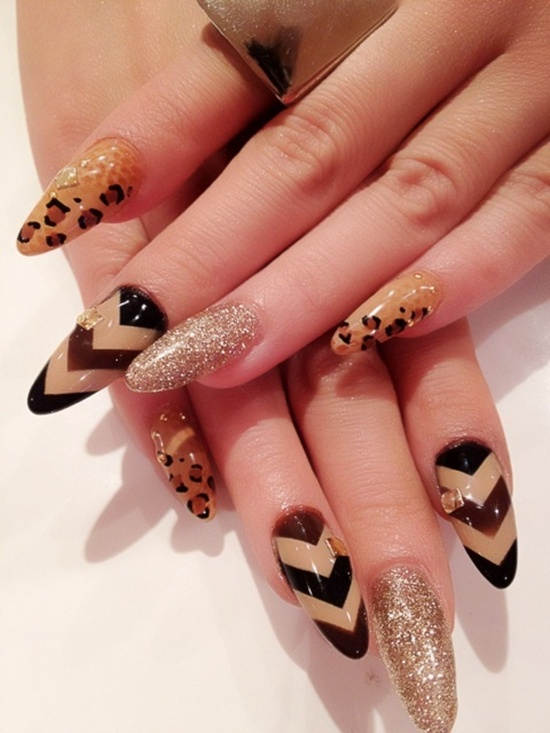 Latest Leopard Print Nail Art Design Ideas For Trendy S