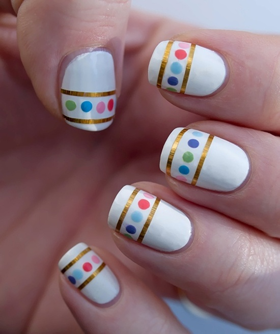 Nail Color Art Design Home Easy Polish Designs