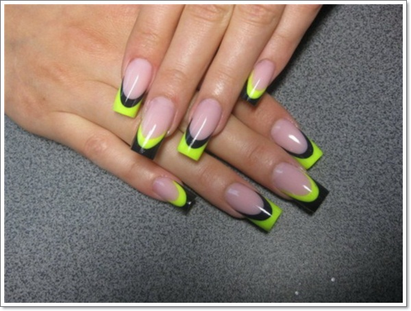 French Tip Nail Design1