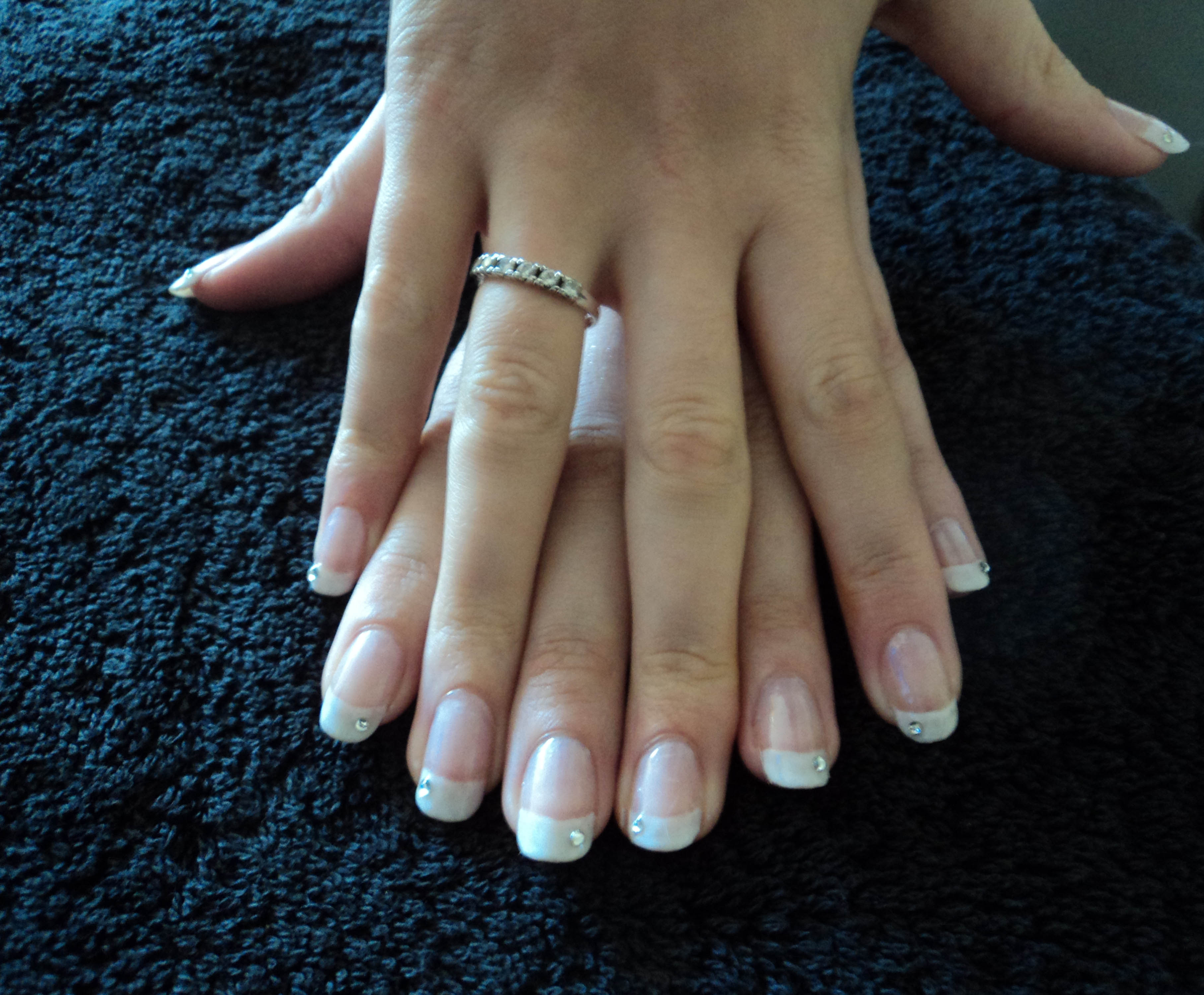 Sac French Manicure Eastleigh Winchester