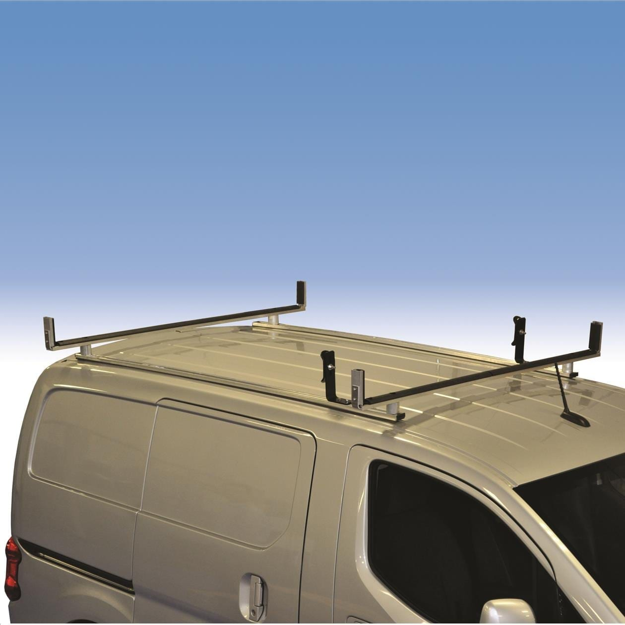 aluminum utility rack for nissan nv200 chevrolet city express model 2bnv2