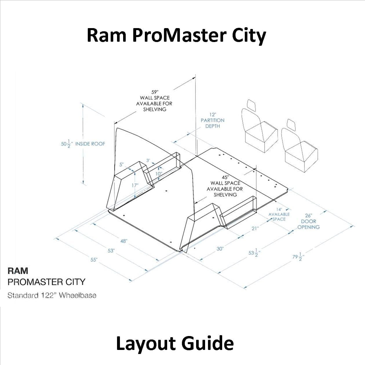 Ram Promaster City Layout Guide