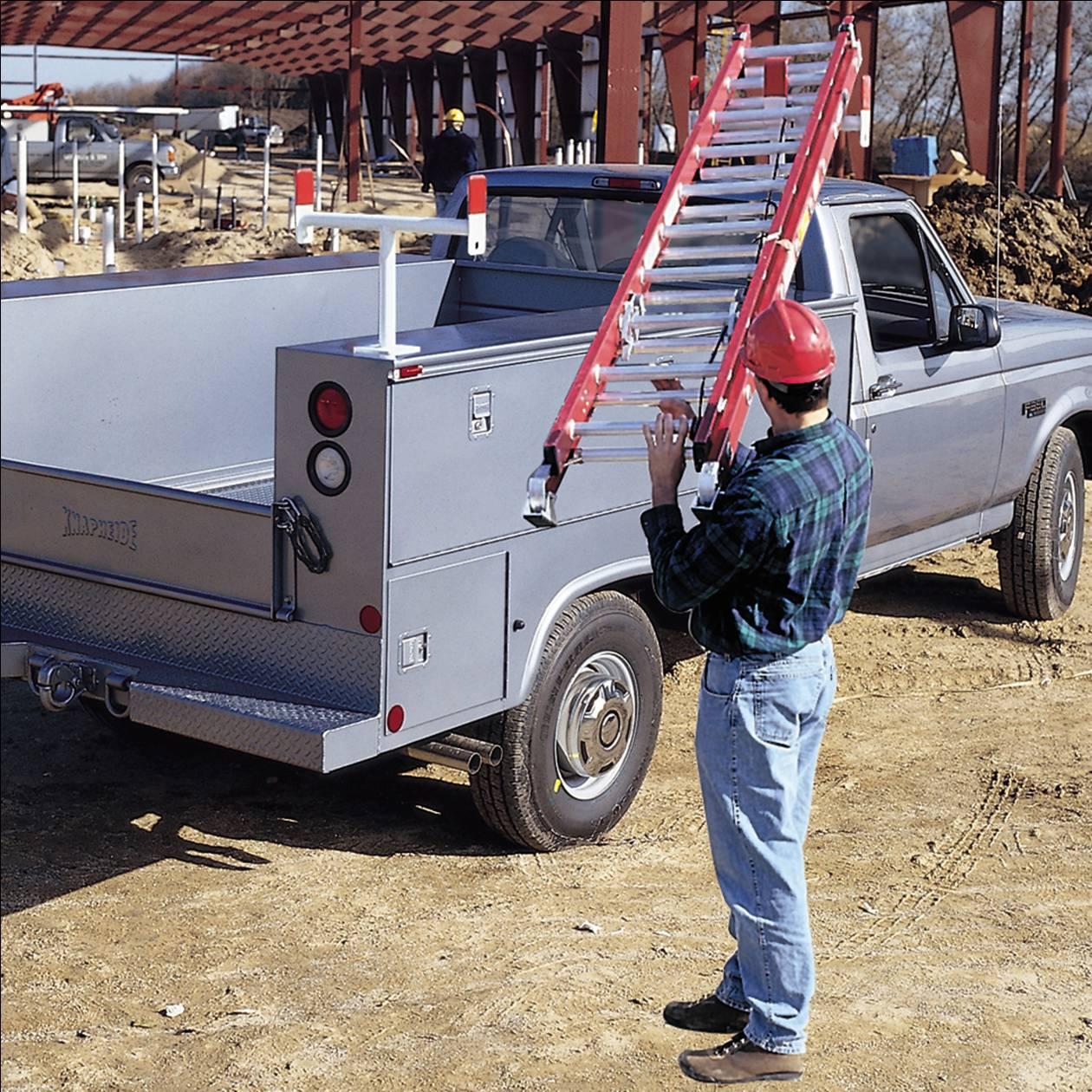 aluminum service body rack model 1425 3
