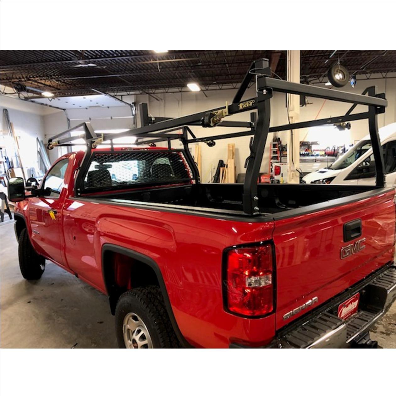 rack it inc heavy duty forklift loadable rack for gm silverado chevy sierra
