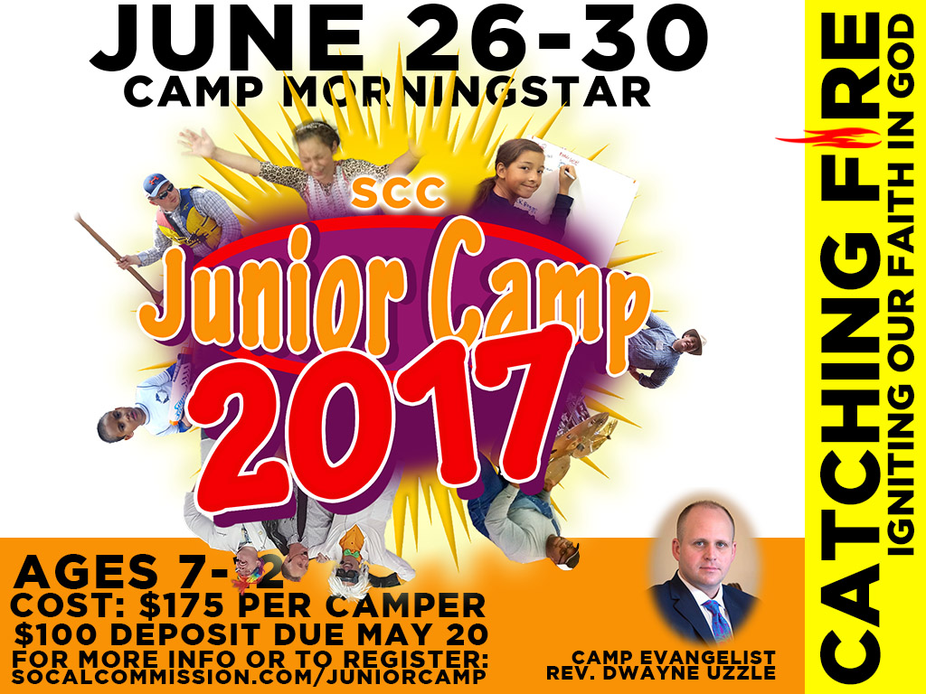 June 26-30 | Junior Camp at Camp Morningstar