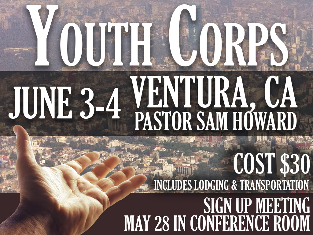 June 3-4, 2017 | Youth Corps
