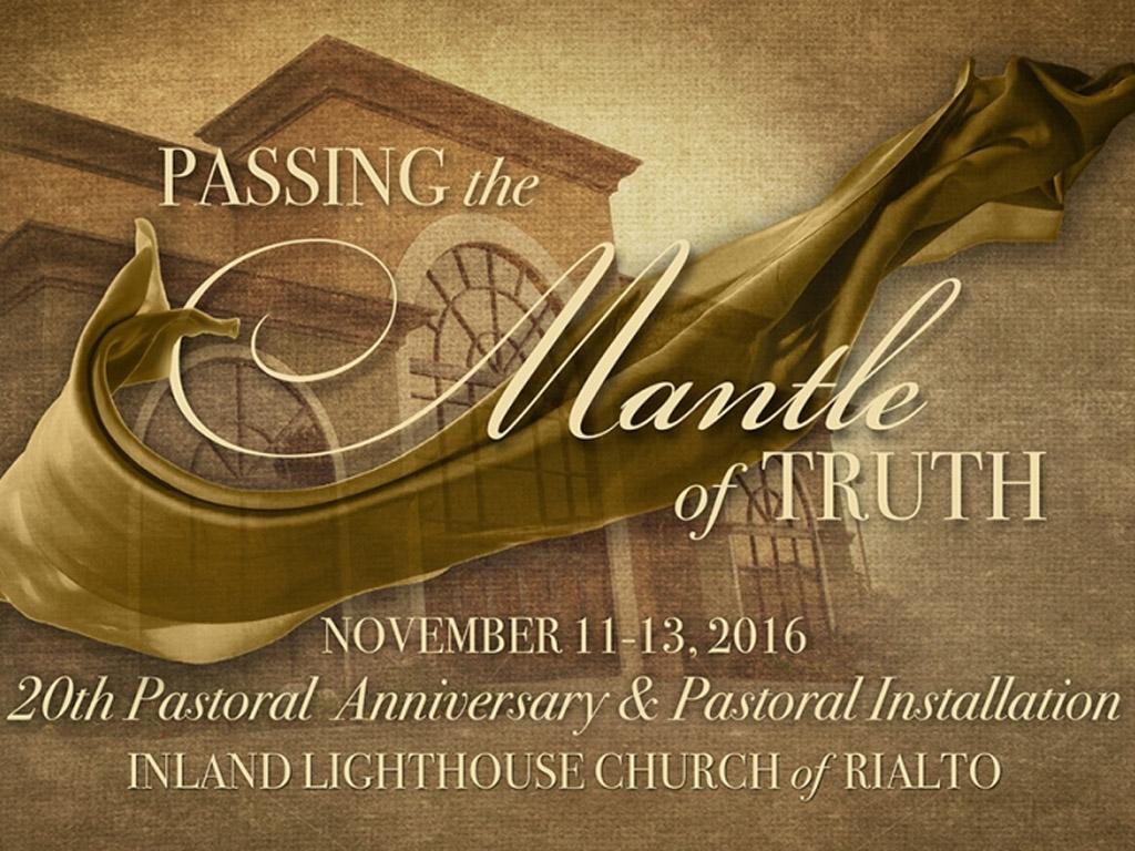 November 11-13 | 20th Anniversary Services