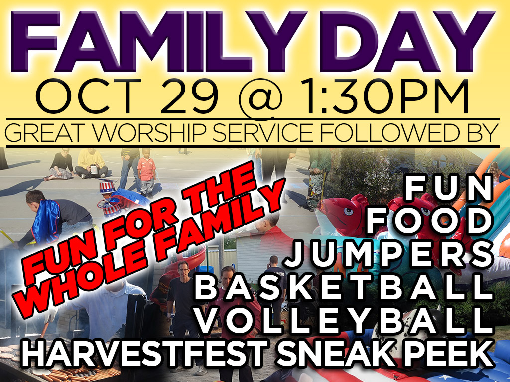Family Day | October 29, 2017
