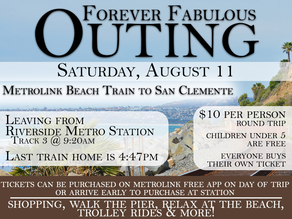 Fabulous 40s Outing   August 11, 2018