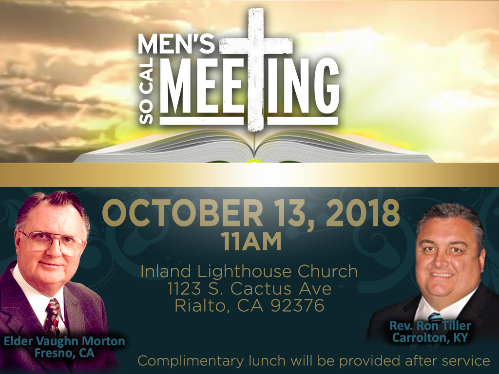 Men's Meeting | October 13, 2018