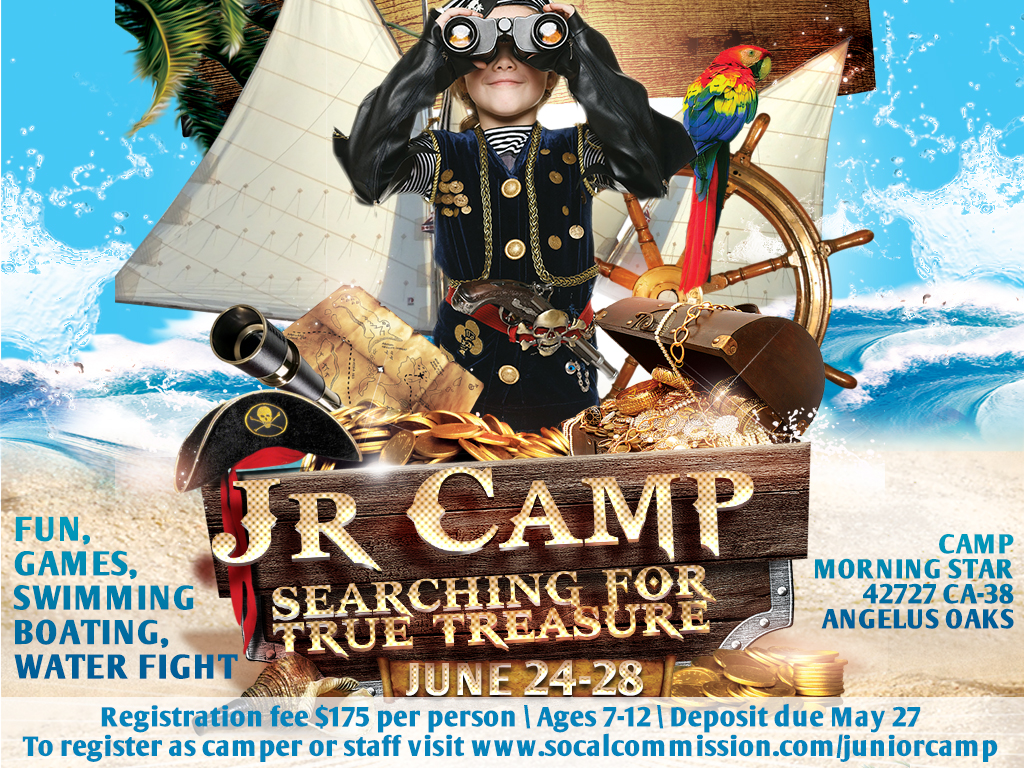 Junior Camp 2019   June 24-28, 2019
