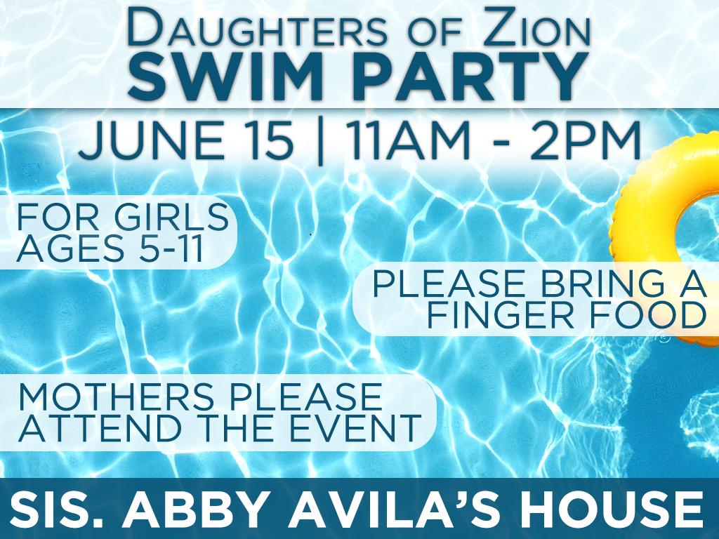 DOZ Swim Party | June 15, 2019