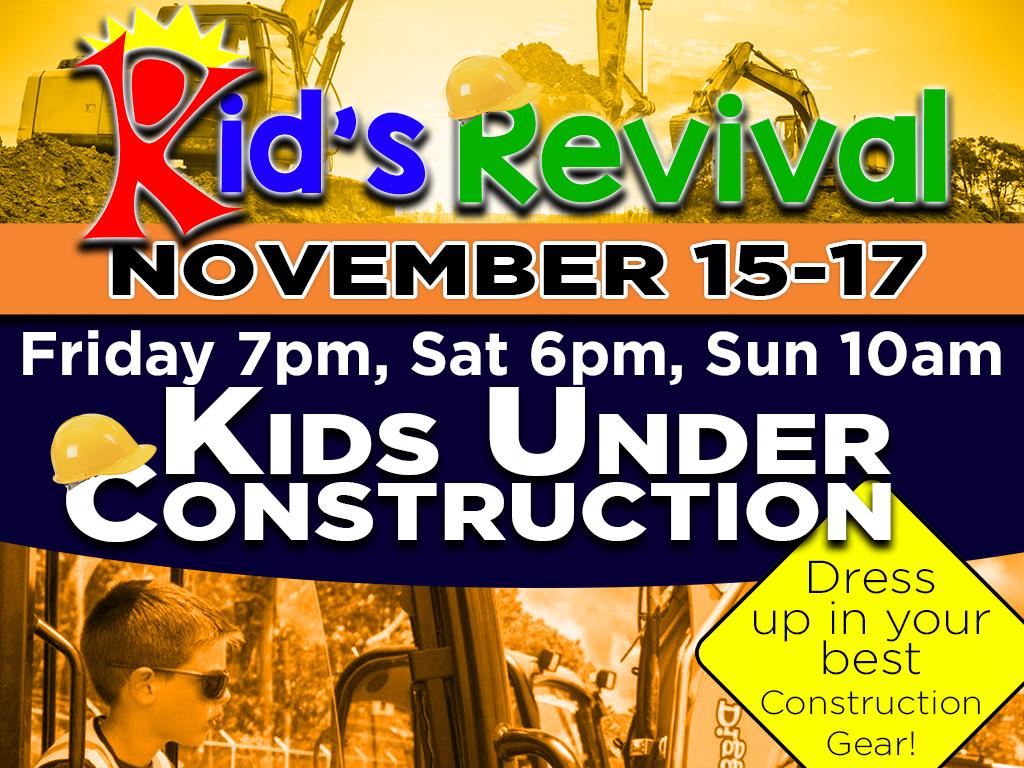 Kid's Revival | November 11-15, 2019