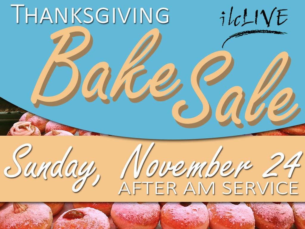 Youth Bake Sale | November 24, 2019